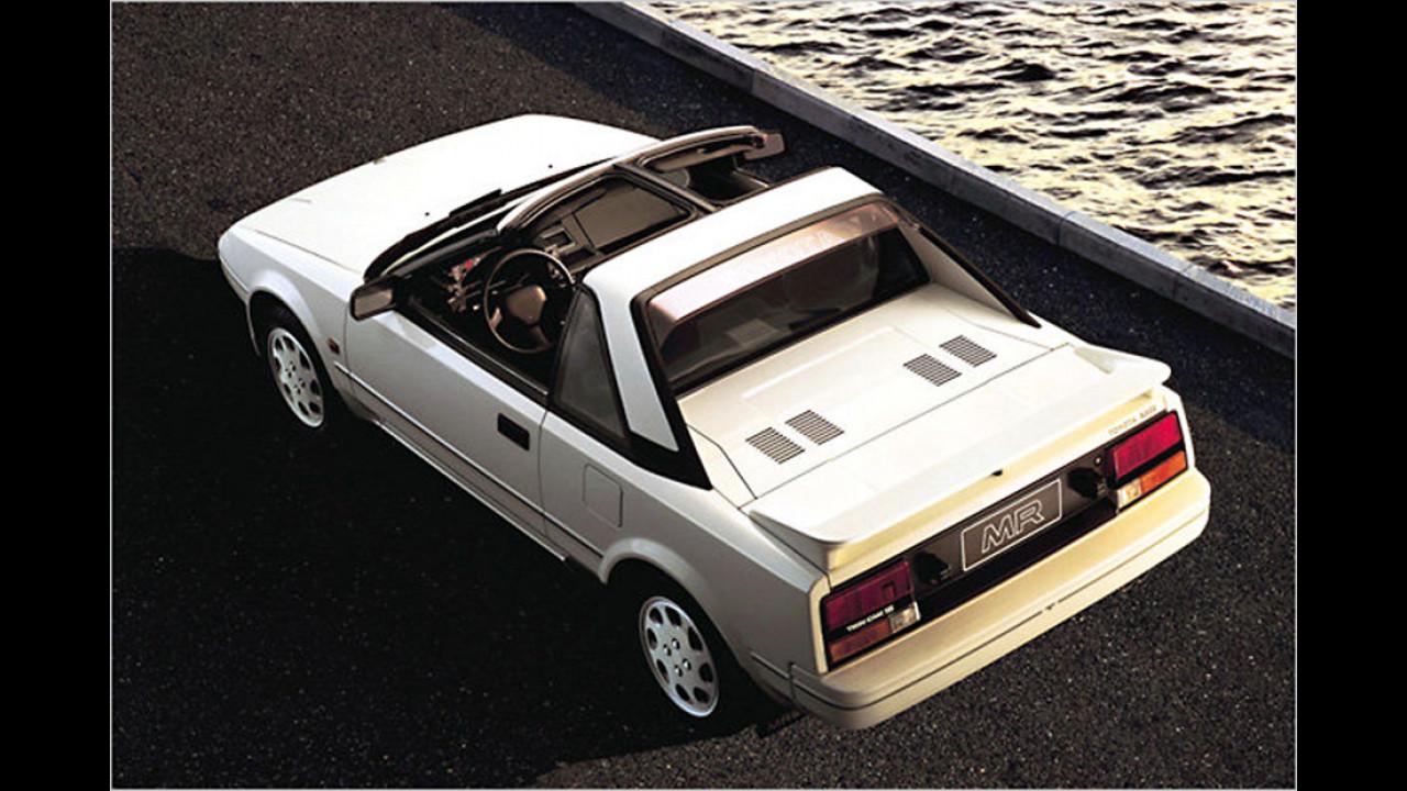 Platz zwei im Vergleich zu 2015: Toyota MR-2 Coupé