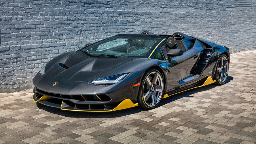 First Lamborghini Centenario Roadster Lands In Beverly Hills
