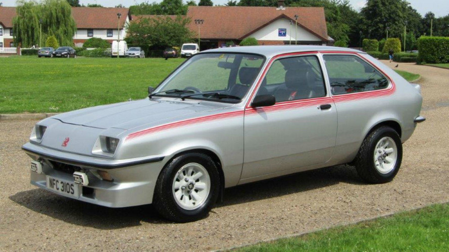 rare vauxhall chevette hs sold for nearly 30 000 rare vauxhall chevette hs sold for