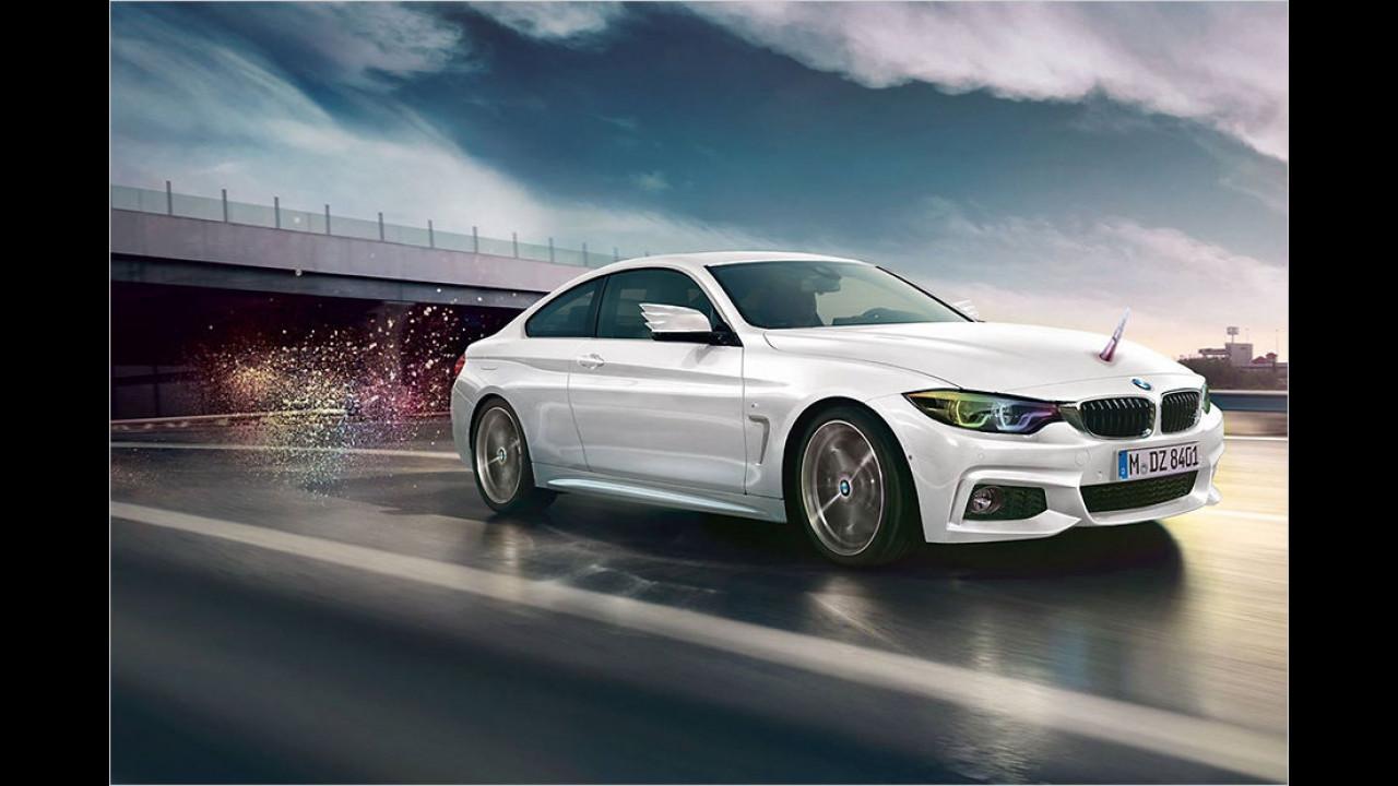 BMW: Limitiertes Horn für den 4er