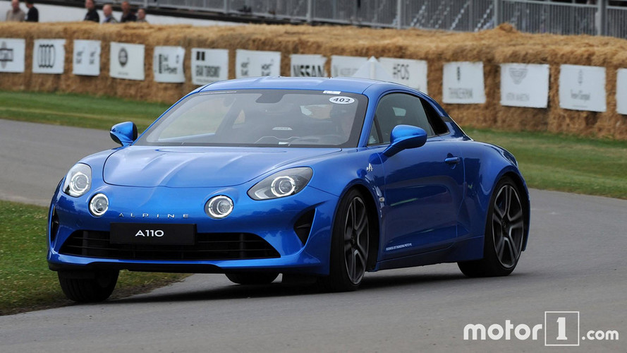Goodwood 2017 - L'Alpine A110 donne de la voix !