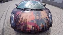 Captain America Lamborghini Gallardo