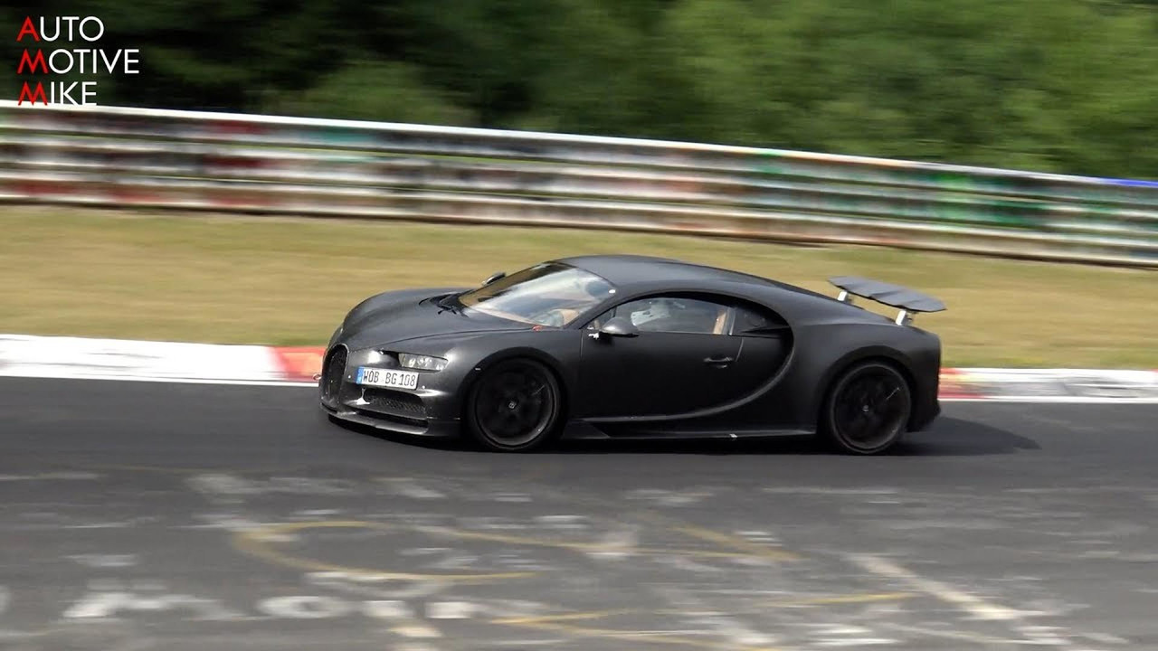 why is bugatti testing the chiron at the nurburgring. Black Bedroom Furniture Sets. Home Design Ideas