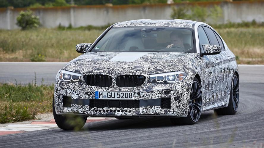 El BMW M5 2018 ya tiene fecha de presentación