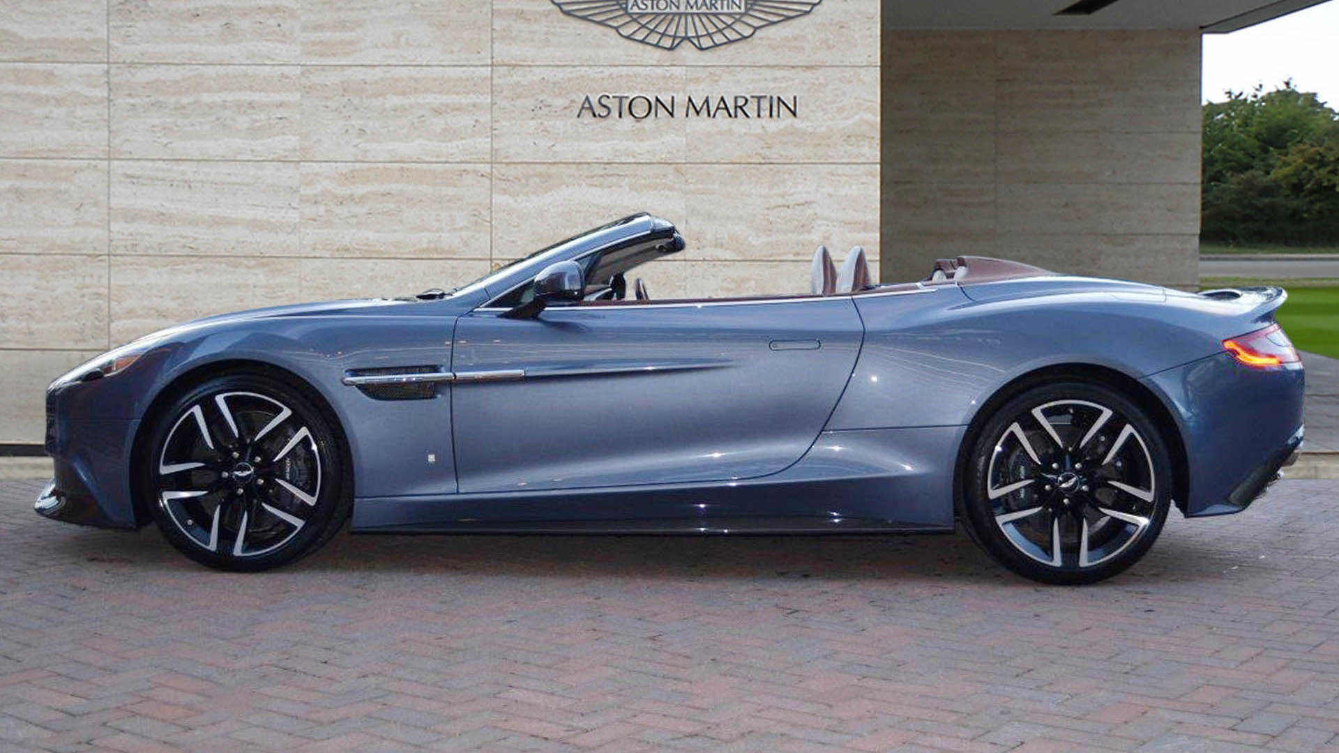 One Off Aston Martin Is A 236 950 Road Going Yacht