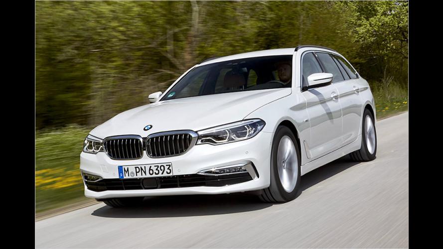 Wir fahren den neuen BMW 520d Touring