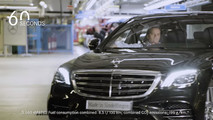 2018 Mercedes S-Class facelift production start