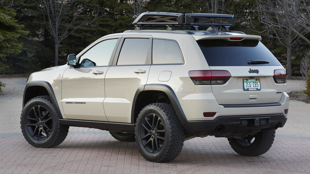 Jeep Grand Cherokee Ecodiesel Trail Warrior Concept Motor1 Com Photos