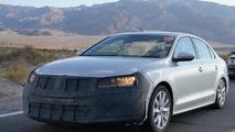 2014 Volkswagen Jetta facelift spy photo