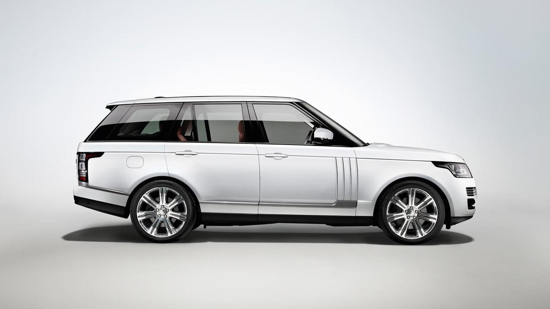 Range Rover Long Wheelbase >> 2014 Range Rover L Long Wheelbase Introduced
