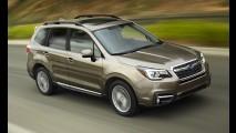 Subaru, 2017 Forester'in örtüsünü indirdi