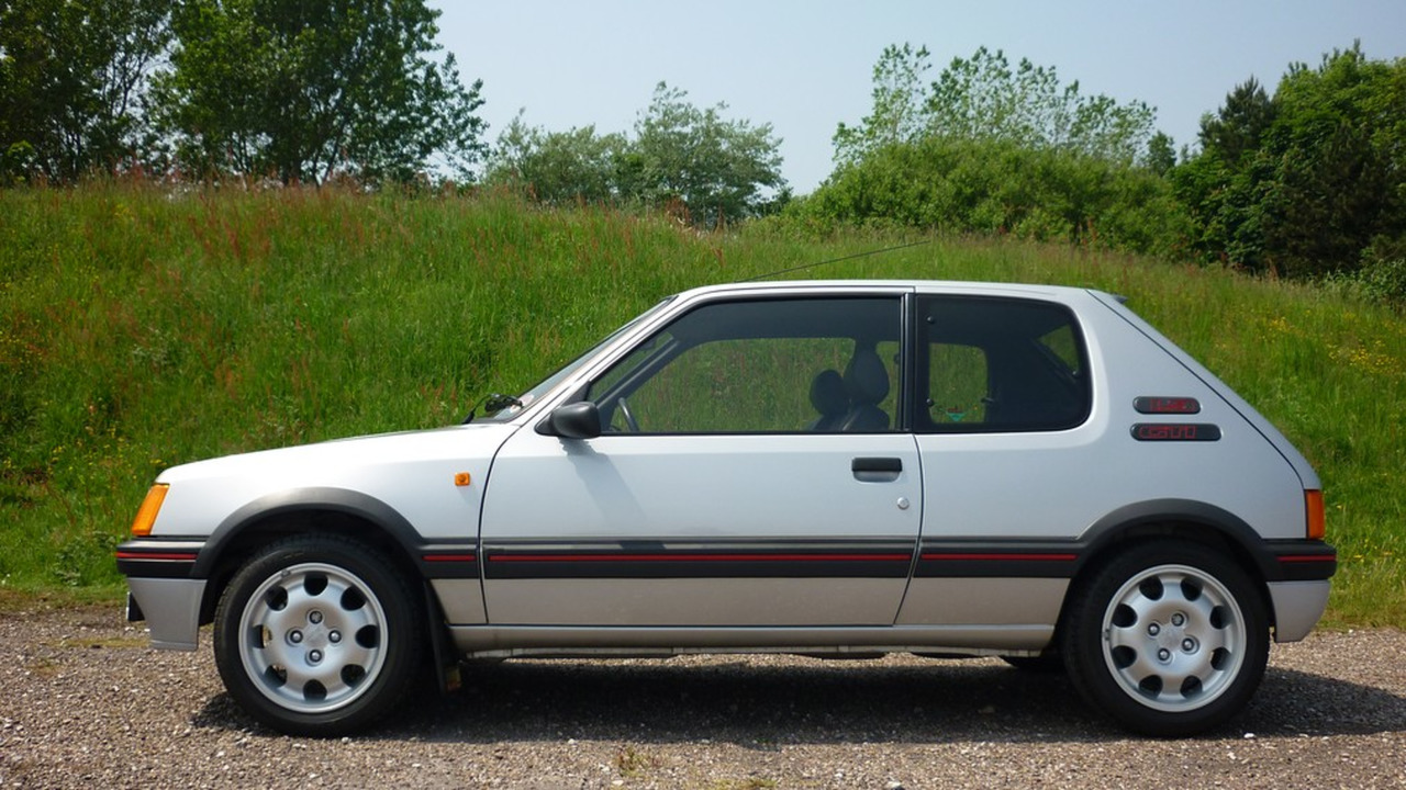1989 Peugeot 205 Gti Sells For 31k And Sets New World Auction Record