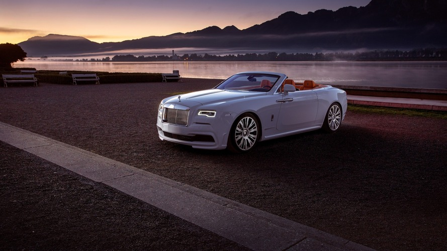 Tastefully tuned Rolls-Royce Dawn bumped to 686 hp