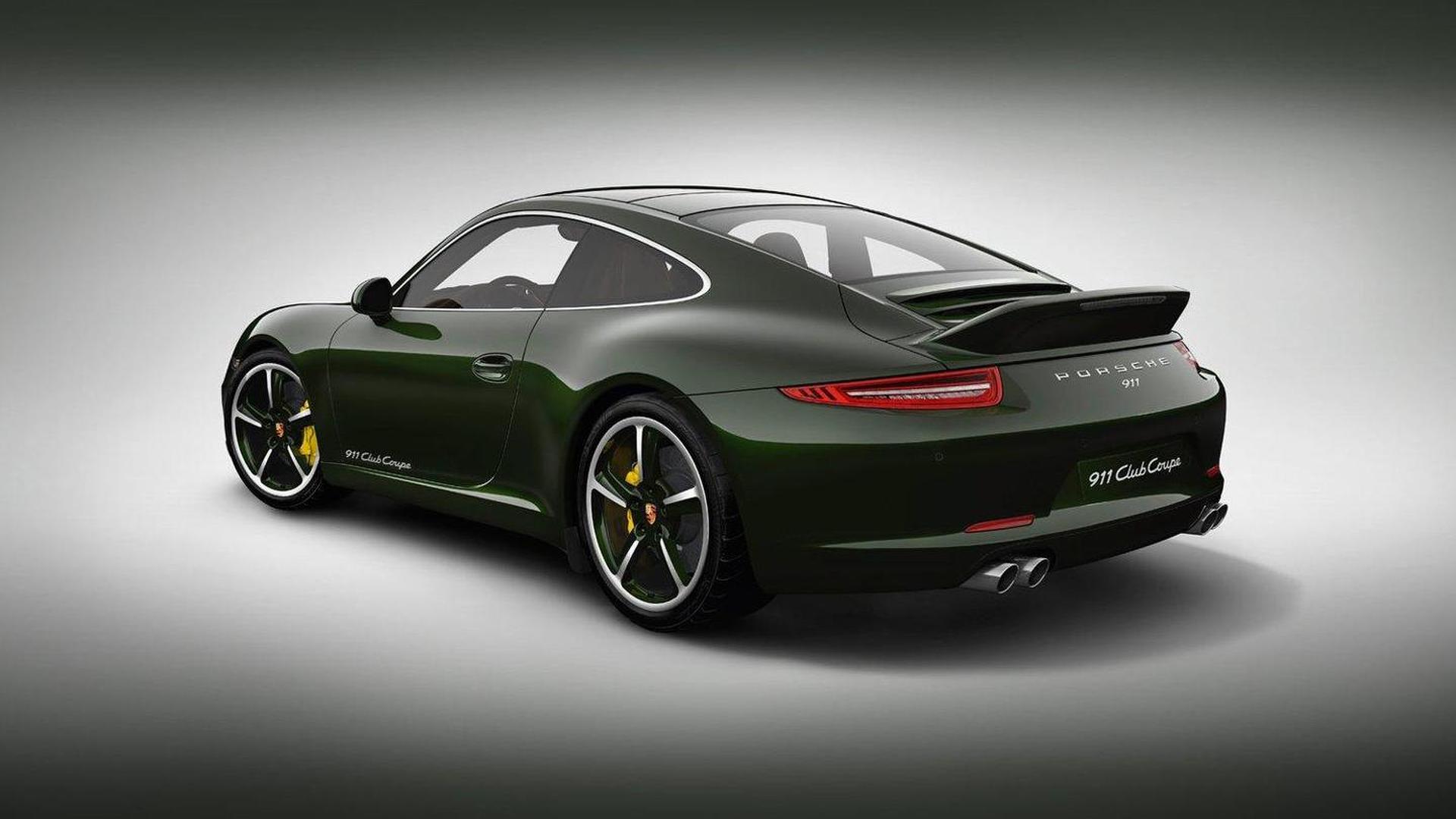 Porsche 911 Club Coupe Special Edition