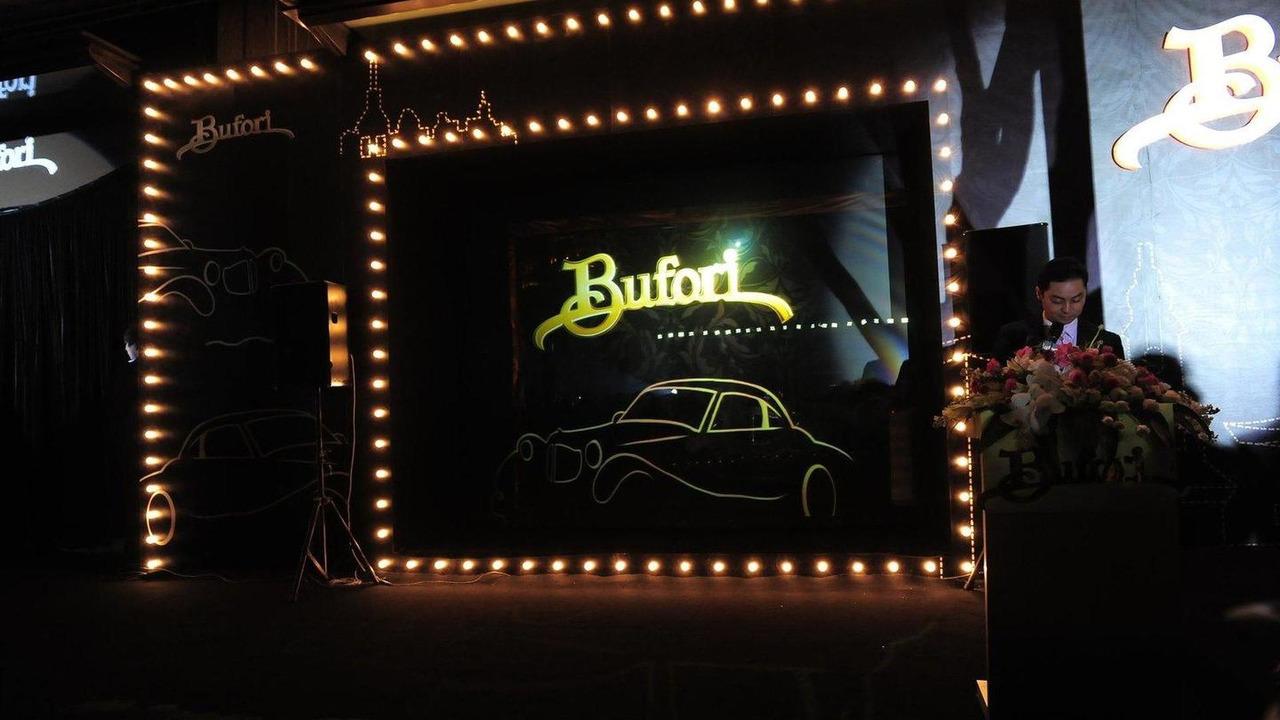 Bufori Shanghai Showroom launch 09.04.2012