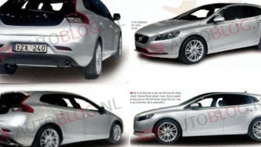 2013 Volvo V40 now leaked from all angles