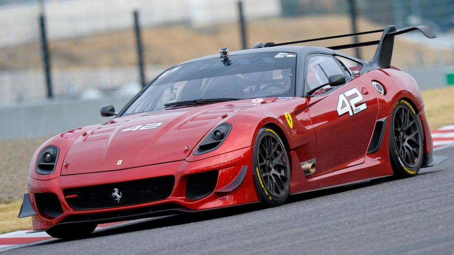 Ferrari 599XX Evolution, Ferrari Racing Days, Suzuka 18.03.2012