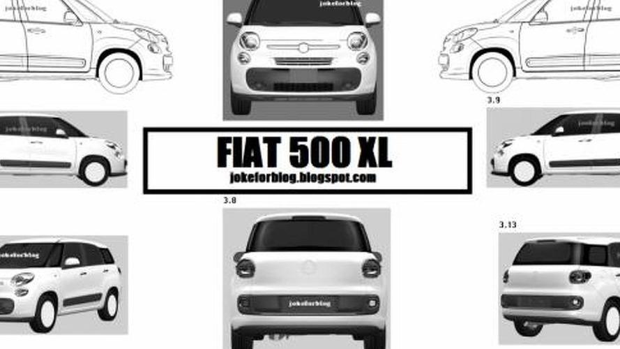 Fiat 500 XL leaked ?