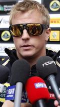 Kimi Raikkonen at German Grand Prix, Hockenheim, 22.07.2012