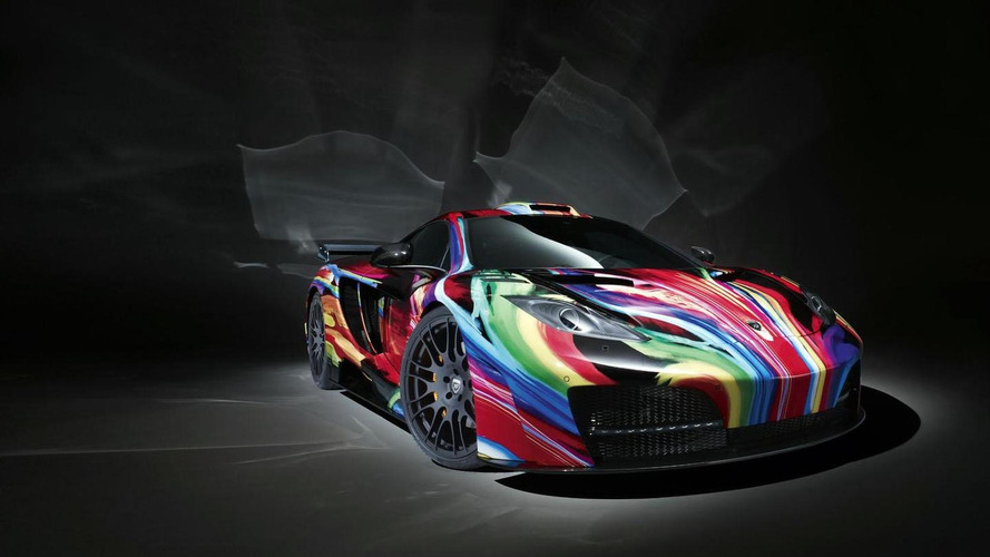 Hamann memoR gets the art car treatment