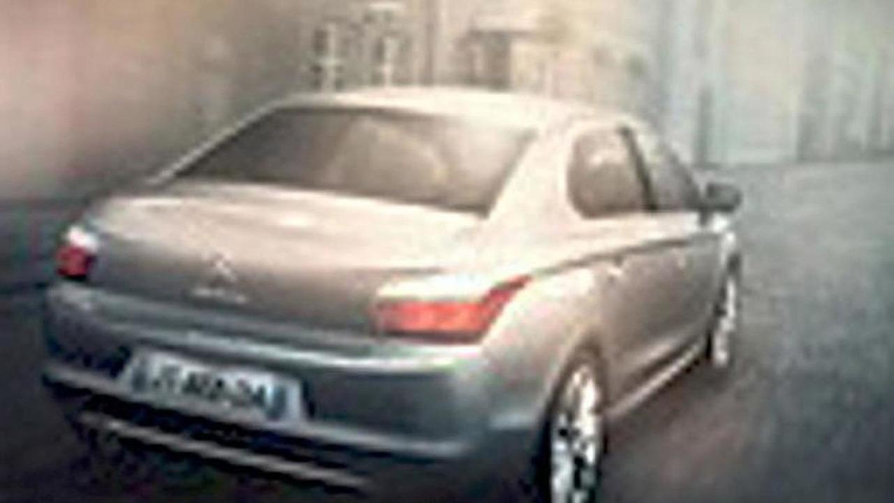 2013 Citroen ID leaked photo 24.1.2012