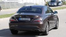 2016 Mercedes-Benz CLA facelift spy photo