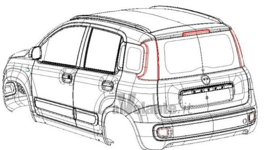 2012 Fiat Panda revealed in patent filing
