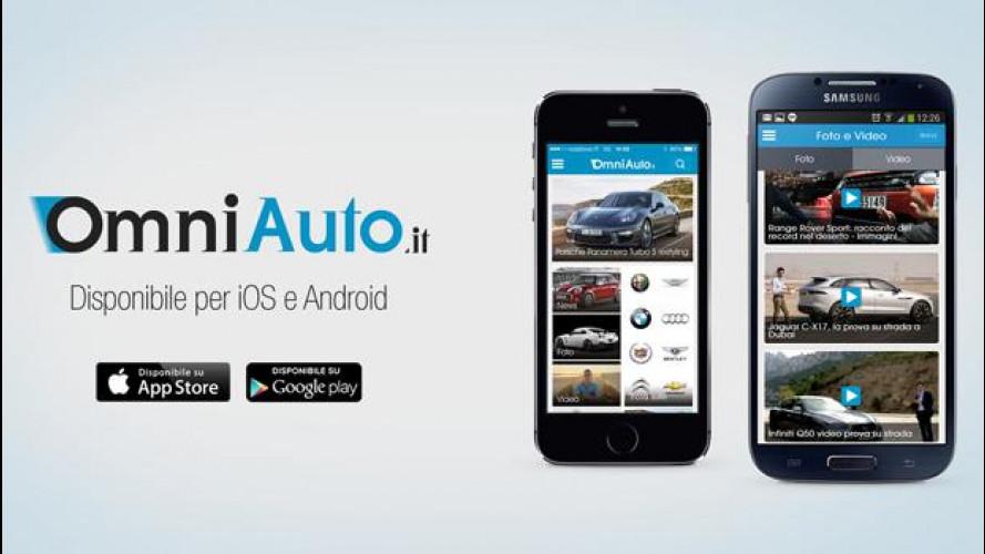La nuova App di OmniAuto.it per iOS e Android
