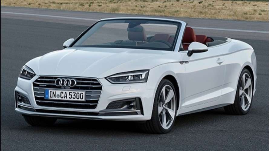 Nuova Audi A5 Cabrio, col Car-2-X dialoga con le altre auto