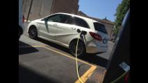 Mercedes B 250 e, test di consumo reale Roma-Forlì