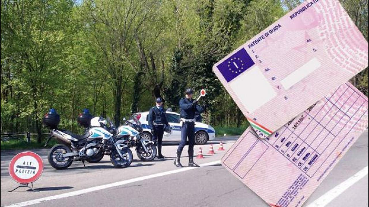 [Copertina] - Guida senza patente, da oggi sanzioni fino a 30.000 euro