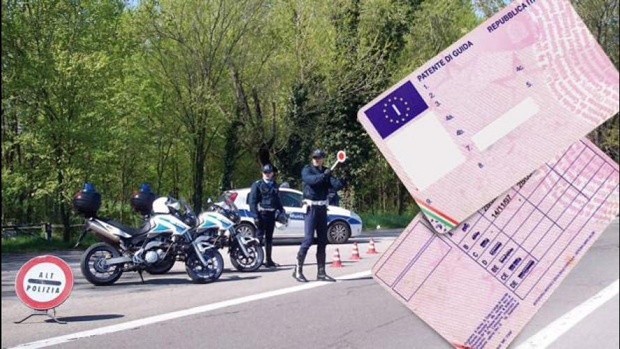 Guida senza patente, da oggi sanzioni fino a 30.000 euro