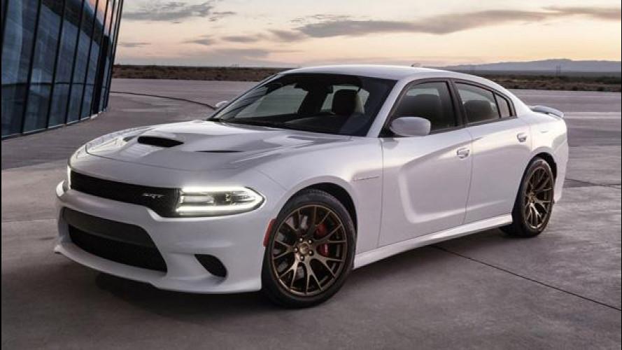 Dodge Charger e Challenger Hellcat, la produzione raddoppia
