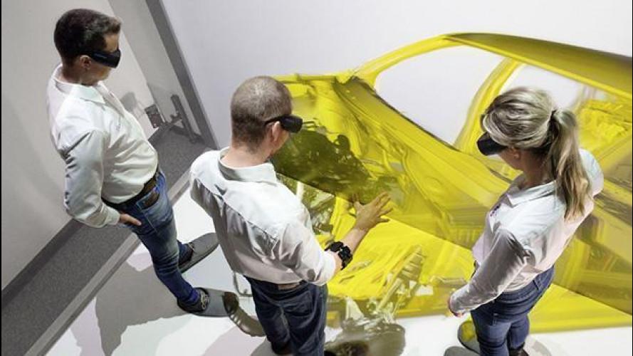 Audi usa la realtà virtuale per assemblare le auto