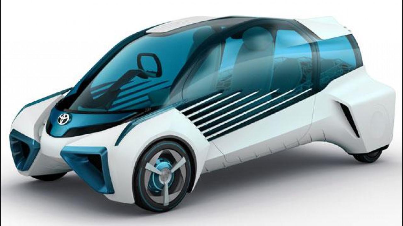 [Copertina] - Toyota FCV Plus, l'idrogeno che elettrifica