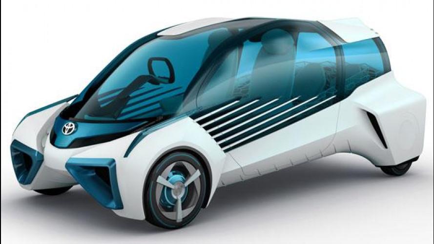 Toyota FCV Plus, l'idrogeno che elettrifica