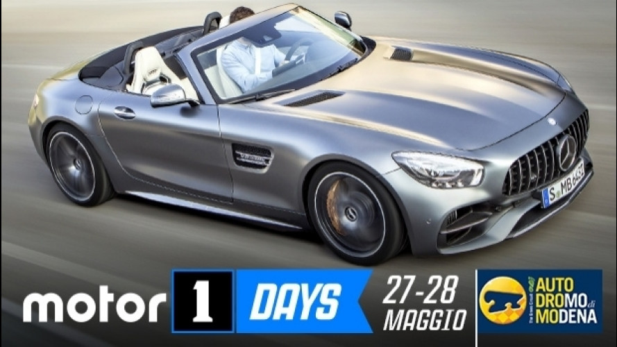 Motor1Days, gli Hot Lap in pista con Mercedes-AMG