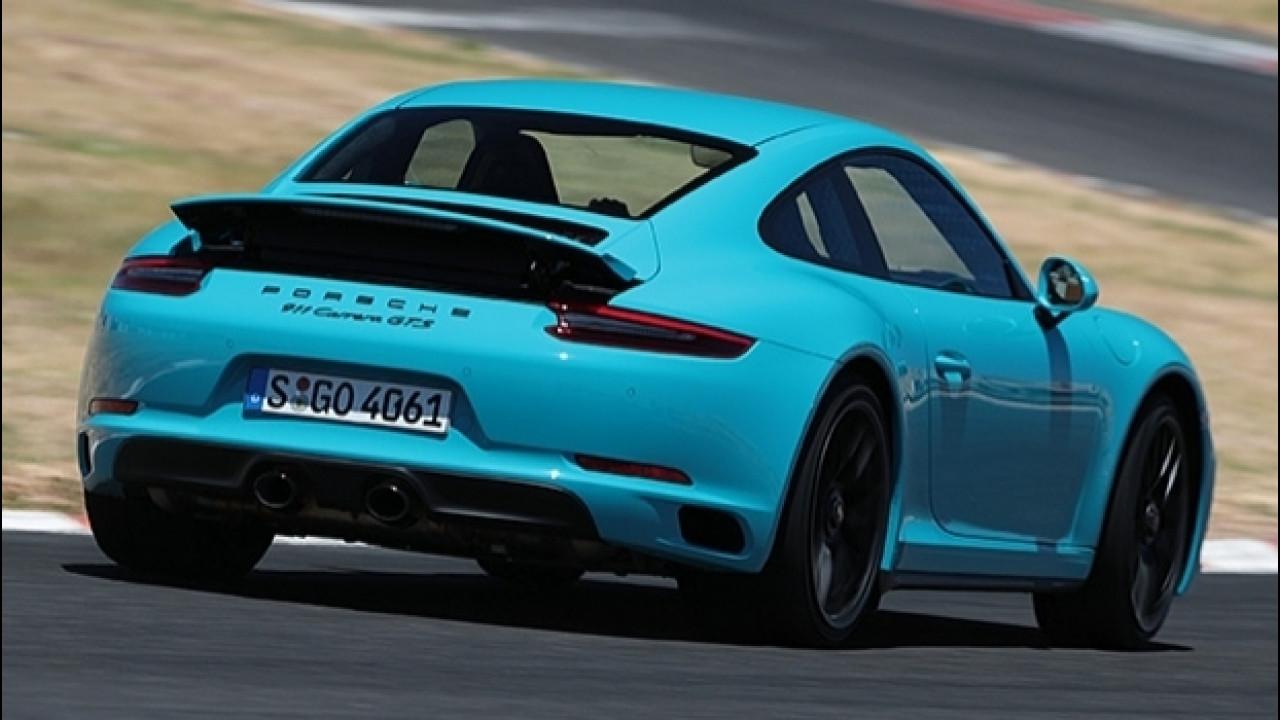 [Copertina] - Porsche 911 GTS , la filosofia sportiva in una sigla magica