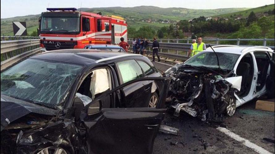 Sicurezza stradale, dall'Europa dati allarmanti