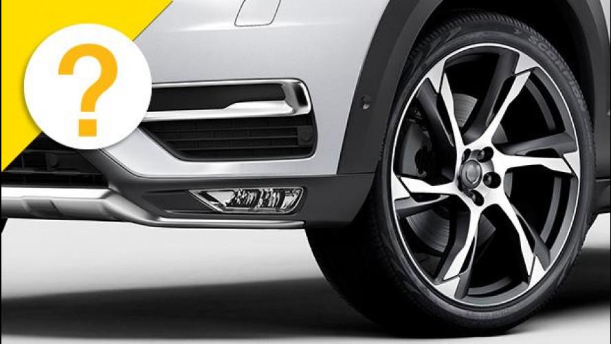 Quali sono le auto con i cerchi e gli pneumatici più grandi?