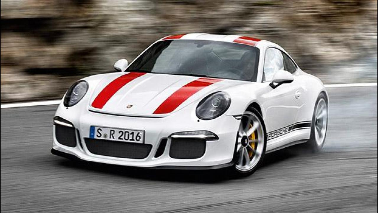 [Copertina] - Porsche 911 R, 500 CV in incognito [VIDEO]
