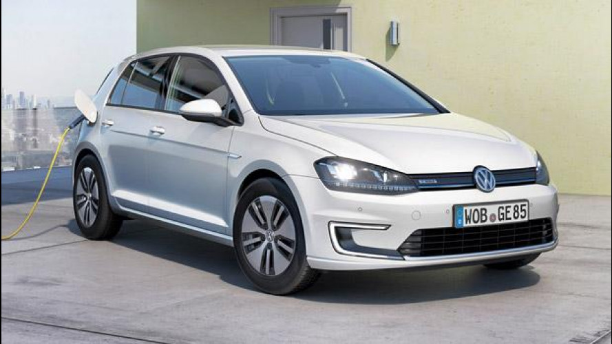 Volkswagen e-Golf, in vendita in Germania
