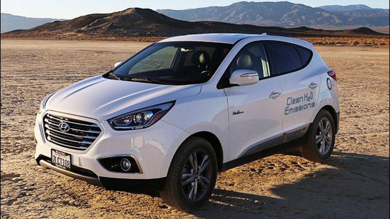 [Copertina] - Hyundai ix35, record di velocità per quella a idrogeno