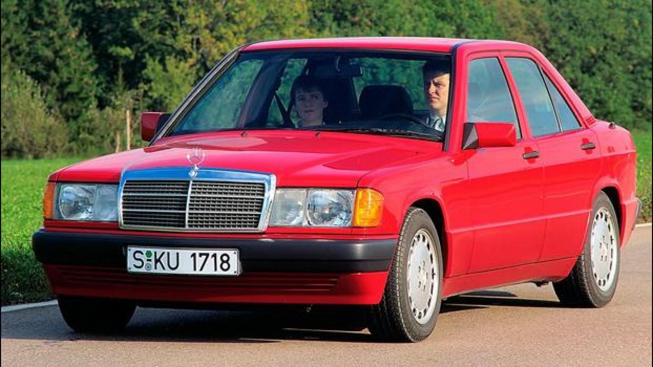 [Copertina] - Mercedes 190, la baby Benz