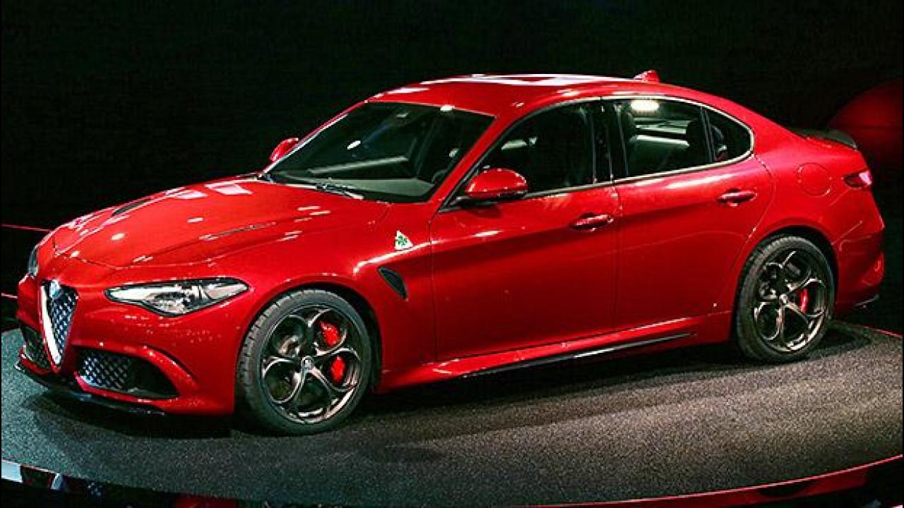 [Copertina] - Alfa Romeo Giulia, la Quadrifoglio è a Monza