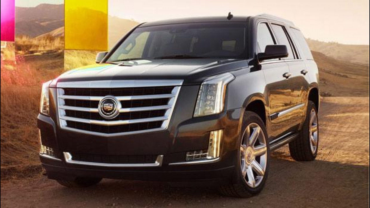 [Copertina] - Cadillac Escalade, prezzo da 83.228 euro