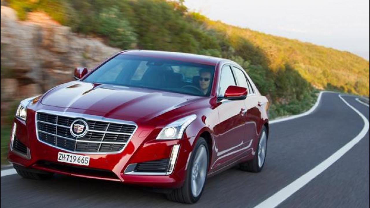 [Copertina] - Cadillac CTS berlina, il premium American Style