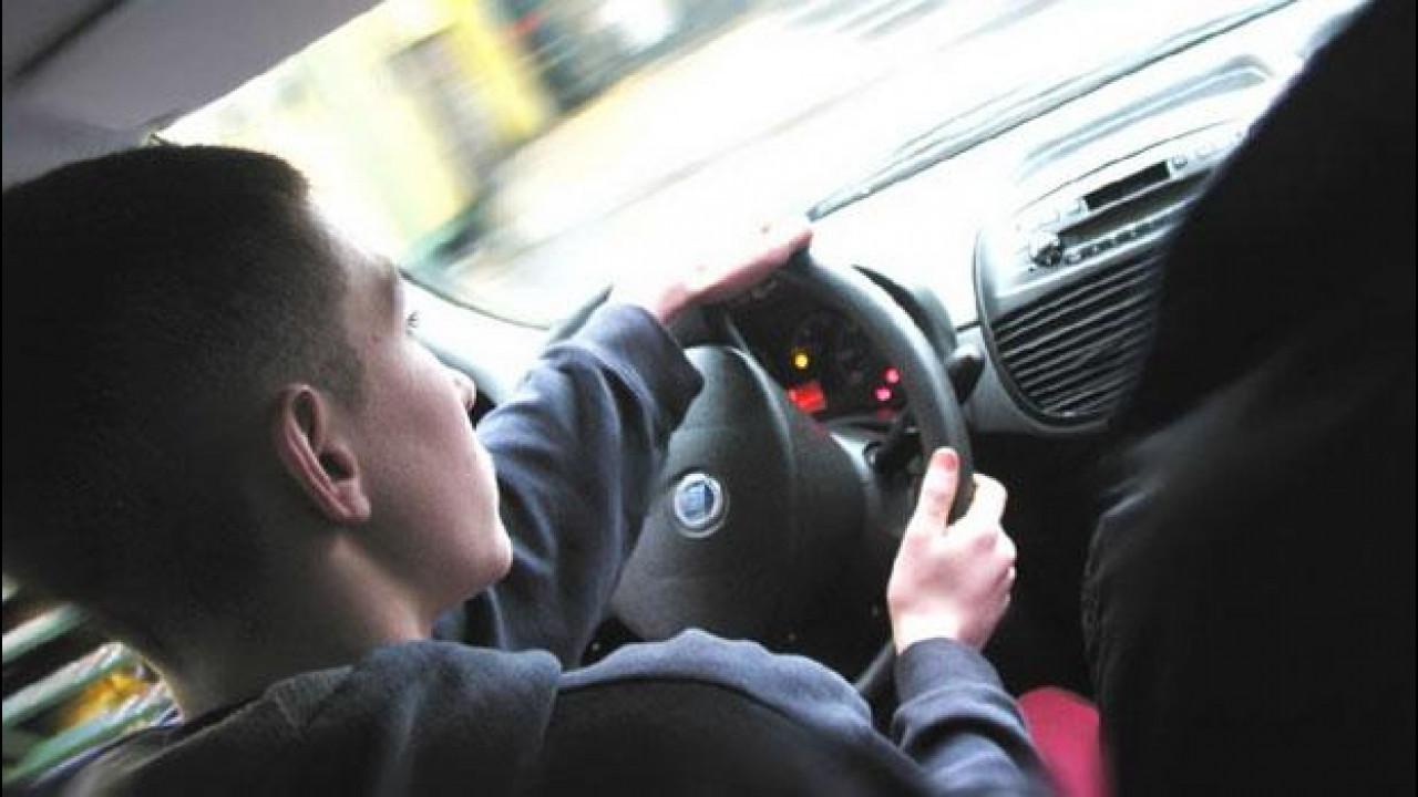 [Copertina] - Guida Accompagnata, sono pochissimi i 17enni al volante