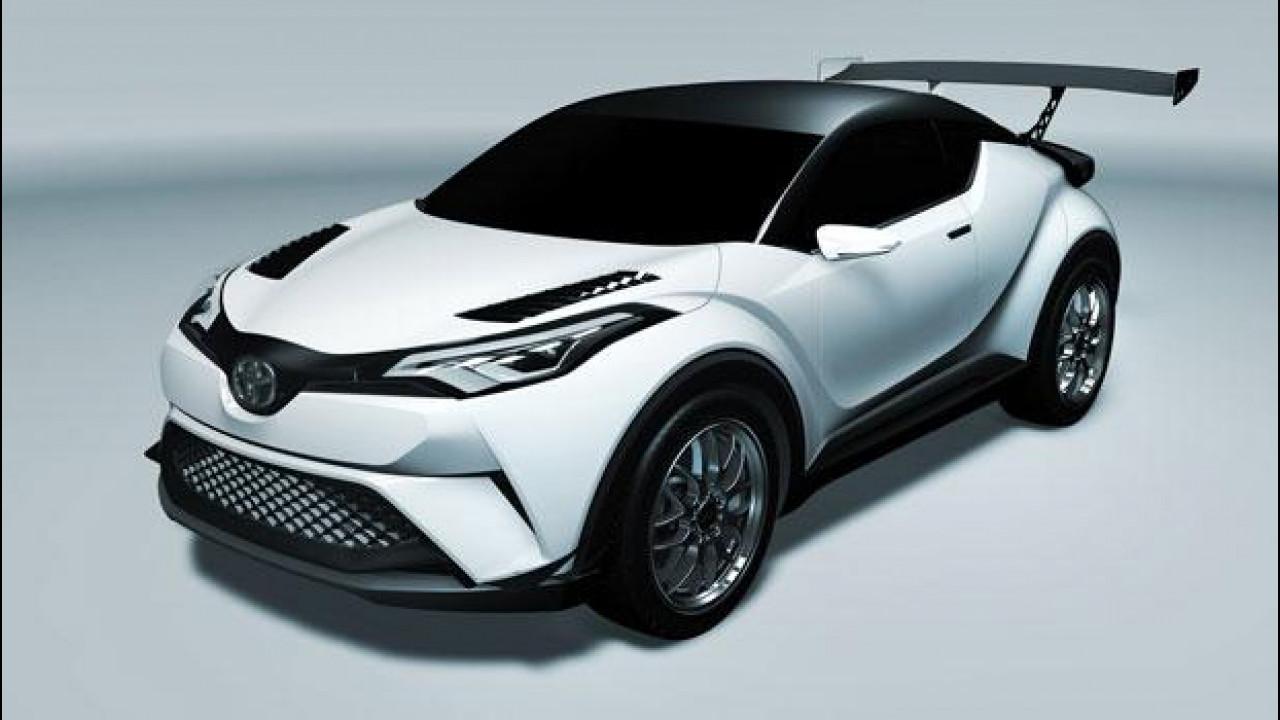 [Copertina] - Toyota C-HR, pronta al debutto in pista