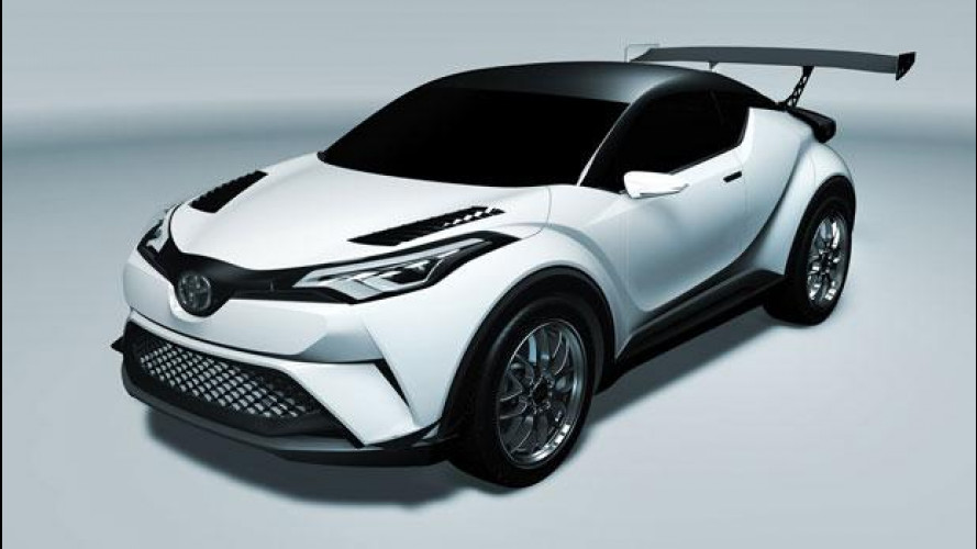 Toyota C-HR, pronta al debutto in pista